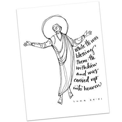 Luke 24:51 by Sally Beck