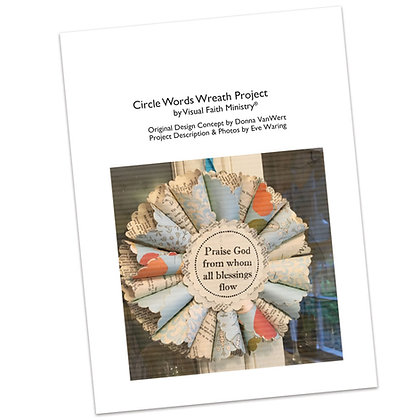 Circle Words Wreath Project