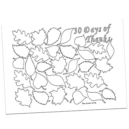 30 Days of Thanks by Bev Wicher