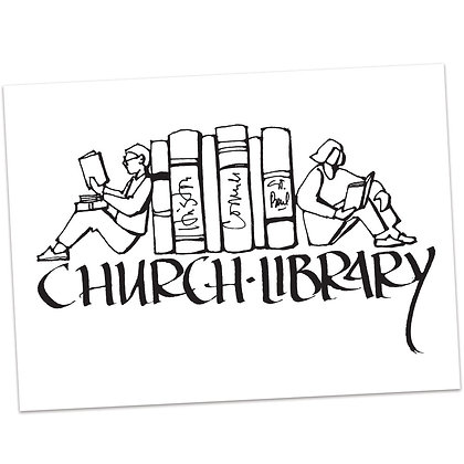 Church Library by Sally Beck