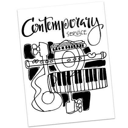Contemporary Worship (vs1) by Sally Beck