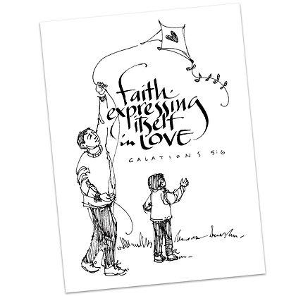 Galatians 5:6 by Sally Beck