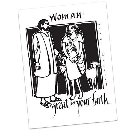 Matthew 15:28 (vs2) by Sally Beck