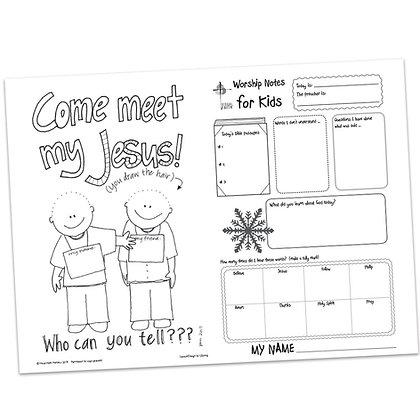 Children's Bulletin - John 1:43-51