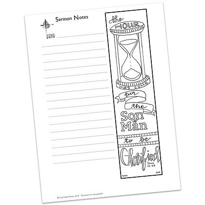 Sermon Notes HS - John 12:23