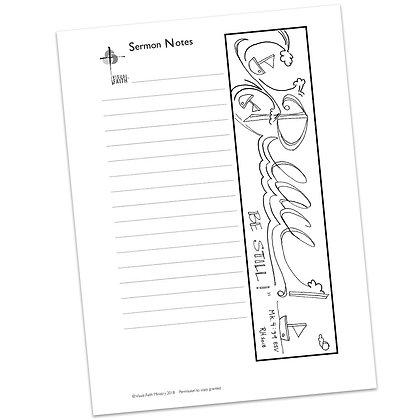 Sermon Notes HS - Mark 4:39