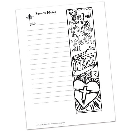 Sermon Notes HS - John 8:32