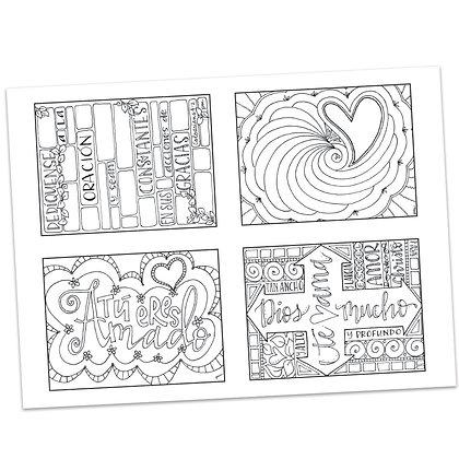 Tarjetas de Oración (Prayer Cards) por Pat Maier