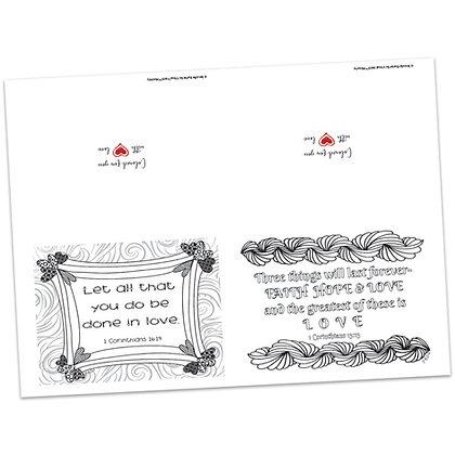 Valentines Note Cards Set 2 by Jennifer Barbe