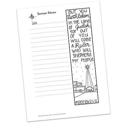 Sermon Notes HS - Matthew 2:1-12