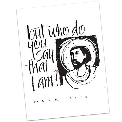 Mark 8:29 by Sally Beck