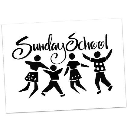Sunday School (vs1) by Sally Beck