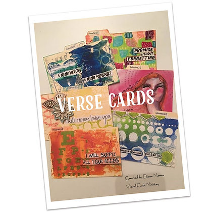 VCAD - Verse Card A Day Project - 31 Verses - by Diane Marra