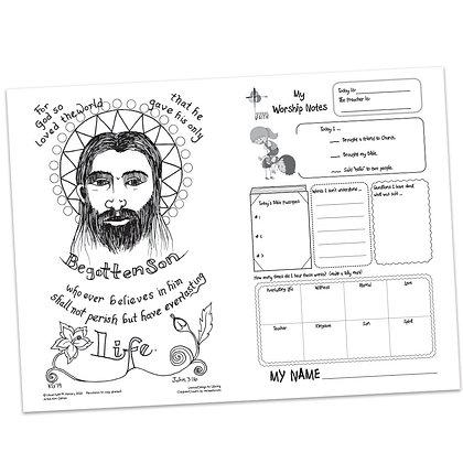 Children's Bulletin - John 3:16