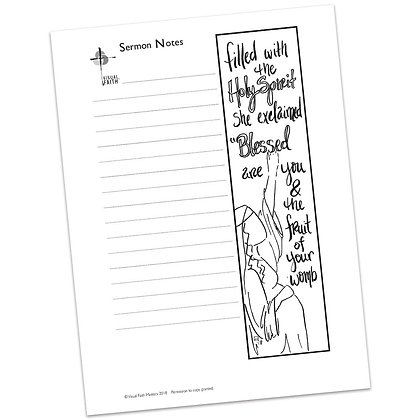 Sermon Notes HS - Luke 1:42
