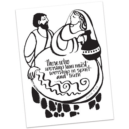 John 4:24 by Sally Beck