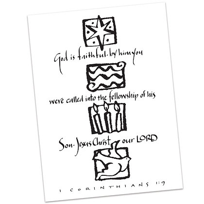 1 Corinthians 1:9 by Sally Beck