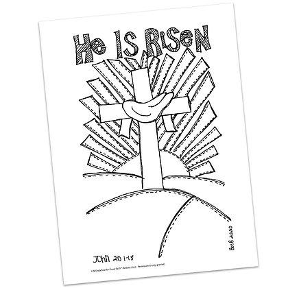 John 20:1-18 HS by Belinda Bost