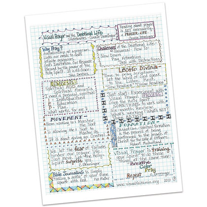 Be the Light Conference Sketch Notes by Connie Denninger