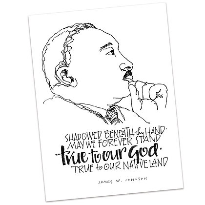 Martin Luther King by Sally Beck