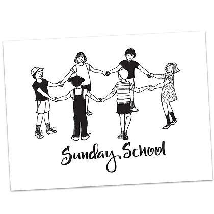 Sunday School (vs2) by Sally Beck