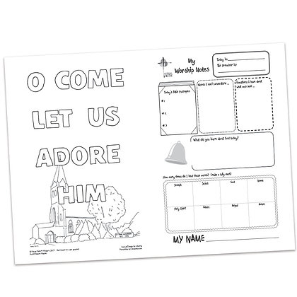 Children's Bulletin - Matthew 1:21