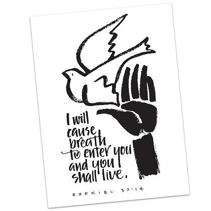 Ezekiel 37:14 (vs1) by Sally Beck