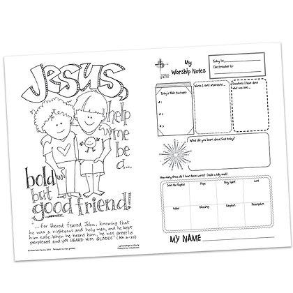 Children's Bulletin - Mark 6:14
