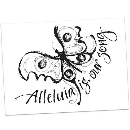 Alleluia by Sally Beck