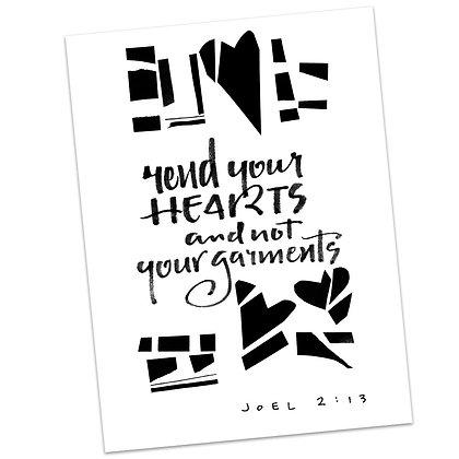 Joel 2:13 by Sally Beck