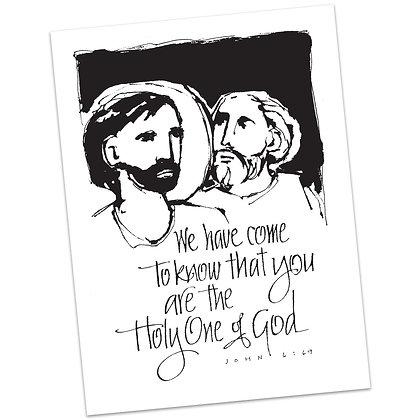 John 6:69 by Sally Beck