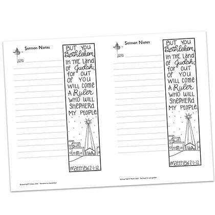 Sermon Notes - Matthew 2:1-12
