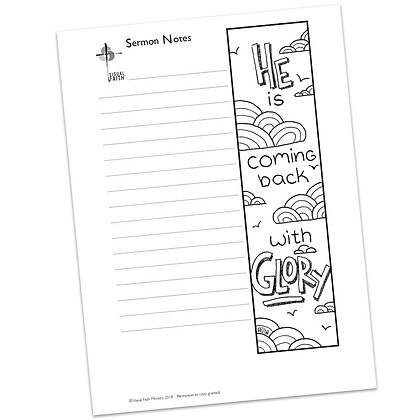 Sermon Notes HS - Luke 24:19
