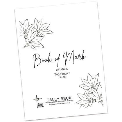 Book of Mark Tag Project (#10 Tags) - Images by Sally Beck