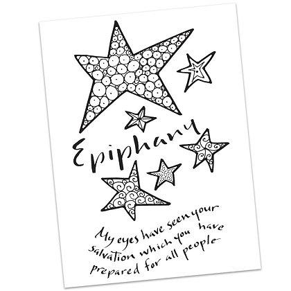 Luke - Epiphany by Sally Beck