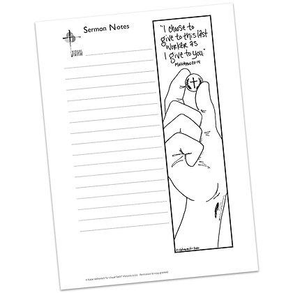 Sermon Notes HS - Matthew 20:14