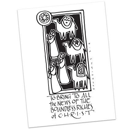 Ephesians 3:8 (vs2) by Sally Beck