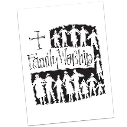 Family Worship (vs1) by Sally Beck