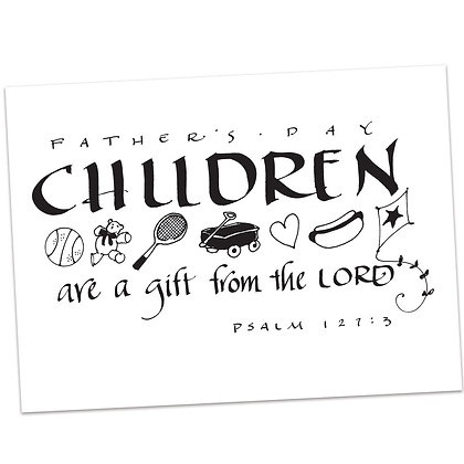 Psalm 127:3 by Sally Beck