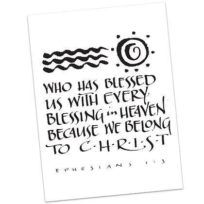 Ephesians 1:3 by Sally Beck