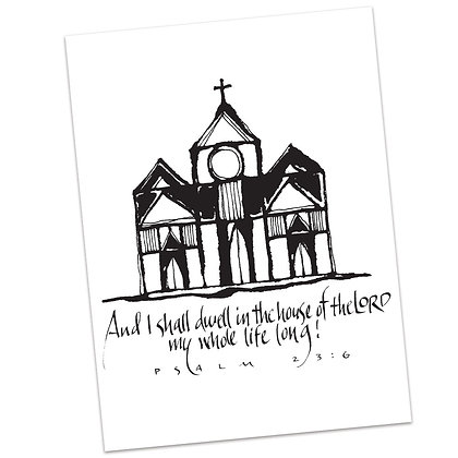 Psalm 23:6b by Sally Beck