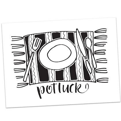 Potluck by Sally Beck