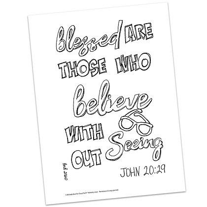 John 20:29 HS by Belinda Bost