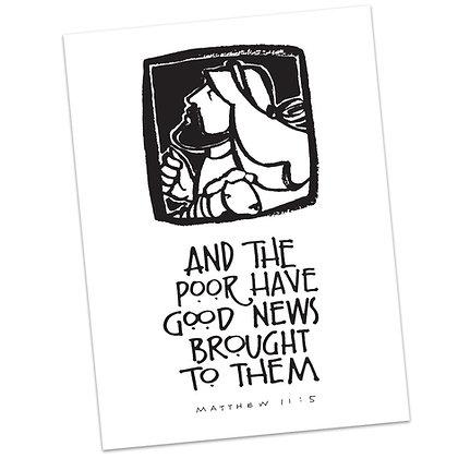 Matthew 11:5 by Sally Beck