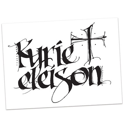 Kyrie Eleison by Sally Beck