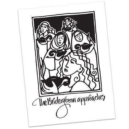 Matthew 25 Bridegroom by Sally Beck