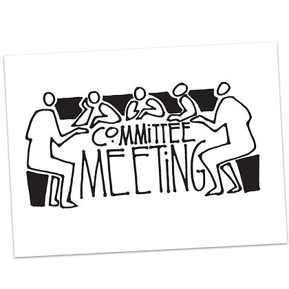 Committee Meeting by Sally Beck
