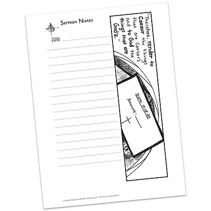 Sermon Notes HS - Matthew 22:21