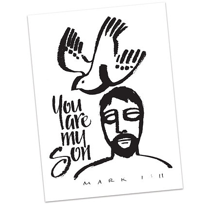 Mark 1:11 by Sally Beck