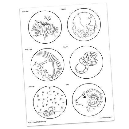 Jesse Tree Readings & Ornaments - Part 1 by Matyas/Helmreich
